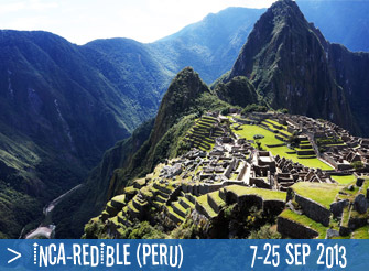 Explore magical Peru with us!